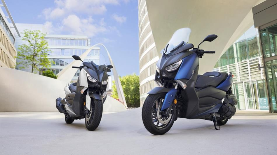 yamaha scooter x-max 400 phantom-blue