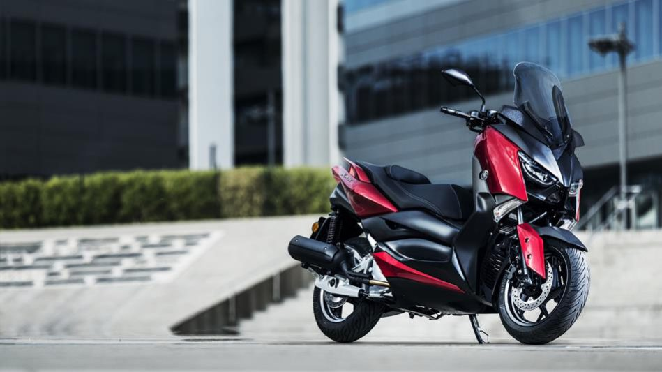 scooter yamaha x-max 125 radical-red