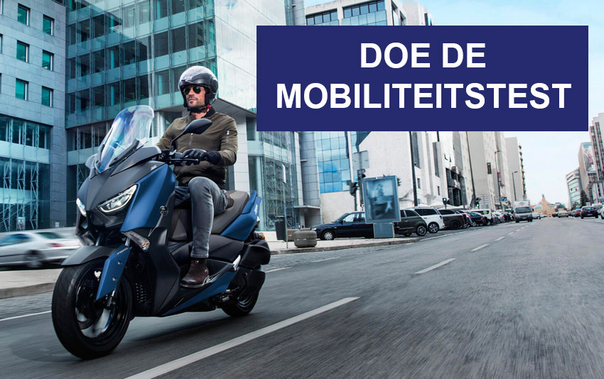 Mobiliteitstest - Scooters Yamaha à Bruxelles - Brussels Moto Store